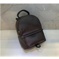 Moda Palm Springs Backpack School Bag School Mini Genuine Pelle Children Donne Stampa