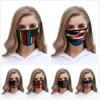 Amerikanische Flagge Gesichtsmasken 2020 Trump amerikanische Wahl Print Supplies staubdicht Universal-Maske für Erwachsene Kinder Designer Masken Boom2016