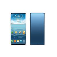 Goophone 10+ 6.3Inch رام 1GB ROM 4GB / 8GB / 16GB الروبوت كاميرا 8.0MP WIFI بلوتوث كاميرا مقفلة الهاتف المحمول DHL