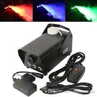 LED RGB cambiamento di colore macchina del fumo 400W ha condotto il telecomando 400W Led macchina del fumo Dj illuminazione professionale effetti di luce