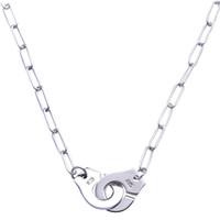 Großhandelspreis Frankreich Berühmte Marke Schmuck Dinh van Halskette Für Frauen Modeschmuck 925 Sterling Silber Handschellen Halskette Link Choker