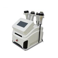 Machine de liposuccinance ultrasonique portable 5 sur 1 40k avec une machine-bipolaire RF Fourpolaire RF Sixpolar RF Aspirateur RF pour le visage et le corps