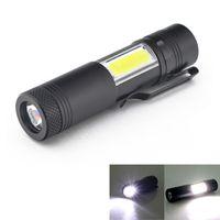 Linternas portátiles Mini Aluminio Q5 LED Xpecob LIGHT LIRNA LANTERNA POTALES PEN TORCHA LÁMPARA 4 MODOS UTILIZAR 14500 O