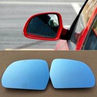 Skoda Octavia 2013-2014 Araç Dikiz Aynası İçin Geniş Açı Hiperbol Mavi Ayna Ok LED Sinyal ışıkları Torna