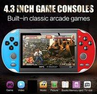 X7 Video Game Player 4.3 Zoll für GBA Handspiel-Konsole Retro-Spiele-LCD-Display-Spiel-Spieler für Kinder Freien DHL