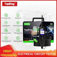 TopDiag 자동차 회로 시험기 12V 자동차 진단 도구 전기 시스템 프로브 P100 자동 전압과 전류 스캐너를 확인
