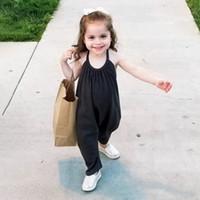 아이들 rompers 패션 소년 소녀 멜빵 레저 슬립 jumsuits 키즈 onesies romper 어린이 면화 장미 의류 A0311