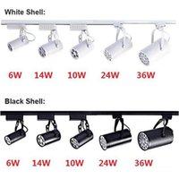 Rail d'éclairage LED 6W 10W 14W 24W 36W 120 Faisceau LED plafond Projecteur AC 85-265V led spot