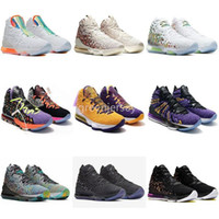 Mens tênis de basquete o que o PE James XVII 17 17s Futuro igualdade na Arena Lakers roxo Stars Outdoor Sports Trainers Sneakers