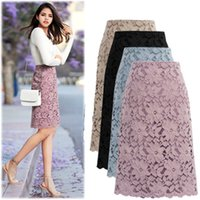 2020 Spring and Summer New Hot Selling Lace Skirt bandage sk...