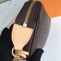 PVC-Tasche Mode Frauen Kette Kreuz Body Taschen Klassische Muster Druck Damen Umhängetasche Gebraucht Tasche