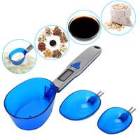 Cozinha Digital Scale Colher 500g / 0.1g eletrônico escalas de medição Colher Peso Volumn alimentos Cozinhar Ferramentas JK2005KD