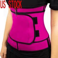 الولايات المتحدة سوق الأسهم! ملابس داخلية للتنحيف الجسم الخصر المدرب النساء سليم للياقة البدنية Cincher الخصر حزام Shapewear زائد الحجم FY8089