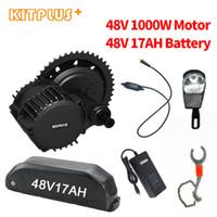 Bafang BBSHD 1000W 48V moteur avec batterie 17AH BBS03 100MM Kit Vélo 120 MM Electric Mountain Fat Mid