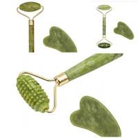 Arti e artigianato 2pcs Beauty strumento di bellezza giada massaggiatore Massaggiatore Xiuyu Massor Stick Portatile Rasching Tightness Thin Face Body 5hh D2