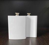 Süblimasyon flask 8 oz kalça şişesi paslanmaz çelik 304 çift duvar DIY sevgilisi için en iyi açık hava etkinlik SN1128