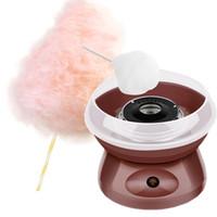 JK-M06 Mini électrique bricolage doux Cotton Candy Maker Machine chaudière coton Marshmallow bonbons MINI sucre coton portable Floss machine