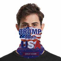 2020 Trump máscara facial Máscaras Eleição americana lavável Printing contra pó Ciclismo Outdoor Magia Cachecóis Designer partido Máscaras CYZ2571 200pcs