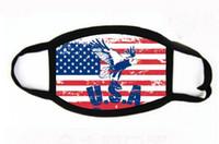 10 Стили Donald Trump Face Рот маска Смешные Anti-Dust Хлопок Маски Флаг США Женщина Мужчины Мужская мода зима теплая моющийся маска FY9120