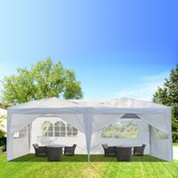 في نزهة خيمة نزهة حفل زفاف الظل الأبيض أزياء الشواء الاستخدام المزدوج ماء المظلة