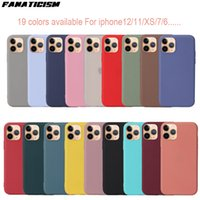 Custodie per telefono in silicone opaco ultrasottile su Apple iPhone 12 Pro Max Soft TPU Colore Candy Cover Iphone12 12Pro 12mini