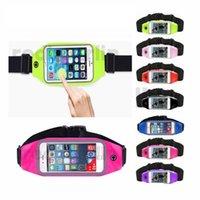 체육관 실행 아마 밴드 운동 방수 허리 파우치 가방 케이스 아이폰 5 6 6s 플러스 7 7plus