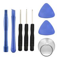 8 в 1 Ремонт монтировка Kit Инструменты открытия с 5 точками Star Pentalobe Отвертки для iPhone 4S 5 6 6S Plus Мобильных телефонов