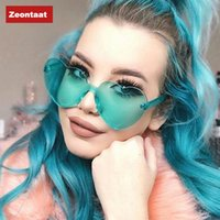 Love Sunglasses Transparent Jelly Glasses Fashion One Piece ...