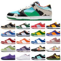 What The Dunk SP Low Pro QS Chunky Dunky Freddy Krueger Homens Mulheres Running Shoes Paris Strangelove Muslin skate esportes Sneakers