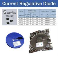Текущий регулятивный диод, L-1822, L-2227, L-2733, L-3339, SOD-123 пакета, CRD применяется для светодиодного освещения, светодиодные лампы
