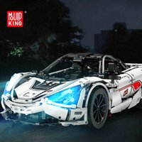 Mouldking 13145 3180+Pcs McLare P1 720S Racing Car Model Technic Series MOC Building Blocks Bricks Toys Birthday Gifts