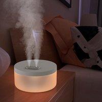 2020 새로운 듀얼 제트 가습기 공기 청정기 홈 밤 빛 지원 대량 공급 소스 제조 업체