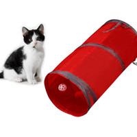 Mascota perro gato túnel de tren plegable pasaje nave de la gota del regalo del gato Formación Juguetes Inicio de productos para mascotas