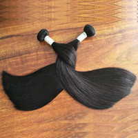 Super Double Drawn Straight Human Hair Bundles 3Pieces 300g Lot Unprocessed Virgin Remy Human Hair Cuticle Aligned Hair From One Donor