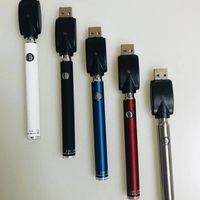 Manuel Batterie Préchauffage Bas Twist Evod Préchauffez VV 510 fil de la batterie avec chargeur USB pour huile épaisse cartouche 350mAh atomiseurs