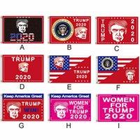 90 * 150 Presidente USA Bandiera Elezione Donald Trump 2020 Keep America Grande Presidente della bandiera bandiera americana Elezione Supporto Flag 11style RRA3334