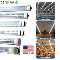 米国+ V型8フィートT8 R17D LEDのチューブのFA8 8フィートLEDのライトチューブ2列LED蛍光管AC 85-2をLED