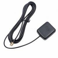 GPS 3M antenna per auto ricevitore GPS per la navigazione dell'automobile DVD visione notturna Antenna Spina SMA adattatore del connettore YttF #