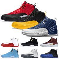 2020 Лучшие моды Jumpman XII 12s мужские ботинки баскетбола ретро Reverse Flu игры 12 университета Золотой камень Синий 12 мужские спортивные тренеры кроссовки