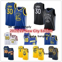 Mens Stephen Curry 30 Klay Thompson 11 Goldene