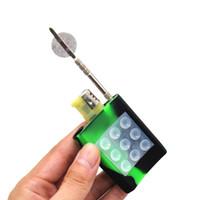 Porte-outils de silicone de silicone Sucker FDA Briquet de silicone et d'outil DAB pour l'huile de verre d'huile de tuyau d'eau Bongs Bubble Capuchon de bouchon en verre DAB Outil Accessoires