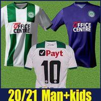 2020 FC Groningen maillots de football kit maison loin enfants maillot de football Groningen ROBBEN 20/21 Daishawn Redan soccer uniforme MAILLOT de Groningen