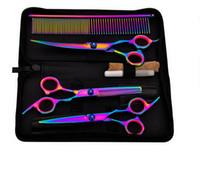6 pollici acciaio inox forbici per capelli professionali barbiere salone parrucchieri taglio taglio strumento styling tool pets forbici epacket free nave