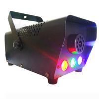 LED Sahne Sis Makinesi RGB Renk Duman Ejektör LED Profesyonel DJ Parti Sahne Işık Noel Partisi