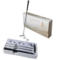 مزيج مضرب الغولف دعوى غولف تدريب أدوات المعاونة داخلي مجموعة الممارسة للمبتدئين هدية مربع التعبئة والتغليف.