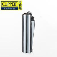 Clipper originale De Espagne Métal libre Feu Gaz Butane léger en nylon anti-déflagrante portable Meule gonflable Briquet cadeau pour homme