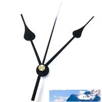 DIY Saat Mekanizması Siyah DIY Kuvars Saat Hareketi Seti Mil Mekanizması Onarım El Setleri ile Çapraz Dikiş Hareketi Saati