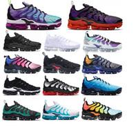 2020 TN Scarpe uomo Sneakers tn colori traspirante Cusion donne che gestiscono pattini casuali Nuovo arrivo US5.5-11 EUR36-45