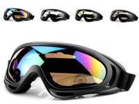 X400 Ciclismo Eyewear CS Windproof Óculos Sports vidro Caminhadas ESQUI óculos de sol da motocicleta Sunglass reflexiva à prova de explosão Goggles Glasses