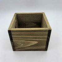 D11XH8CM الخشب مربع تخزين صناديق مربع المنظمة النضرة الغراس diy مشروع